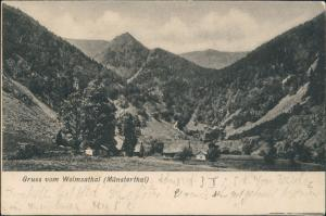 CPA Kolmar Colmar Wolmsathal Münsterthal Elsaß 1905