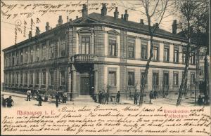 Mühlhausen Elsass Alsace Préfecture Kreisdirektion Gebäude 1903