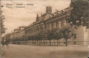 Semlin-Belgrad Zemun (Zimony Земун ) Beograd (Београд) Hauptgasse Strassen 1915