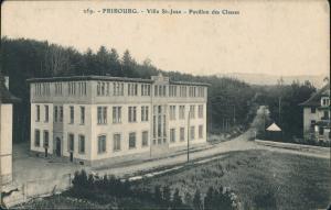 Freiburg im Üechtland Fribourg Villa St-Jeamn Pavillon des Classes 1900