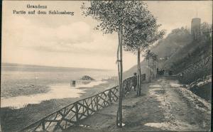 Postcard Graudenz Grudziądz Am Schlossberg 1916