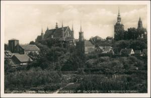 Postcard Frauenburg Frombork Totale 1930