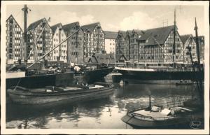 Königsberg (Ostpreußen) Калининград Hafen, Alte Speicher 1932