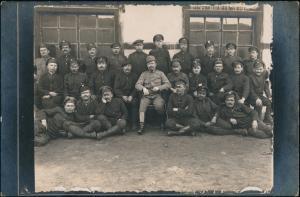 Krakau Kraków WK 1 Soldaten im Kriegsgefangenenlager 1918 Privatfoto