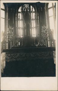 Krakau Kraków Kriegsgefangenenlager Spitalkapelle innen 1918 Privatfoto