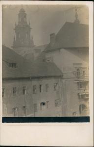 Foto Krakau Kraków Schloßkapelle und Wawel 1918 Privatfoto