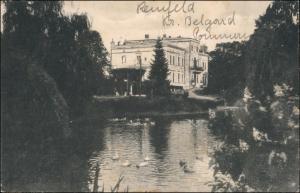 Postcard Reinfeld, Kreis Belgard Bierzwnica Schloß 1922