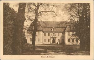 Postcard Zessel (LK Oels Schlesien) Schloß 1928