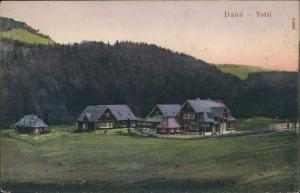 Ansichtskarte Daun Eifel Restauration Gehöft 1907