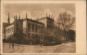 Ansichtskarte Köln Wallraf-Richartz-Museum Strassen Partie & Gebäude 1920