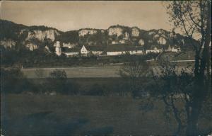 Ansichtskarte Beuron Umlandansicht Partie an der Kunstschule 1930