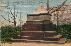 Ansichtskarte Essen (Ruhr) Grabmal von Krupp Haus 1922