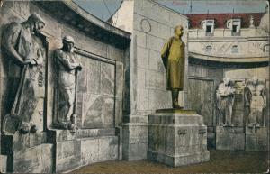 Ansichtskarte Essen (Ruhr) Denkmal F.A. Krupp 1918