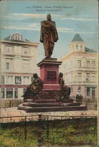 Ansichtskarte Düren Restauration Kaiser Wilhelm Denkmal 1919