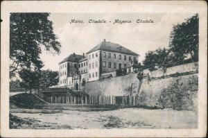 Ansichtskarte Mainz Citadelle 1921