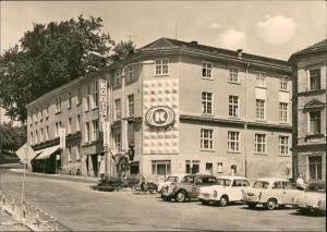 Ansichtskarte Treuen (Vogtland) Kontakt Warenhaus - Trabant 1971
