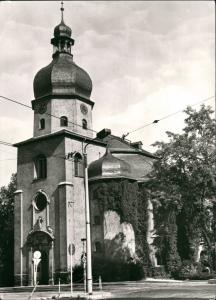 Ansichtskarte Plauen (Vogtland) Lutherkirche - Straße 1973