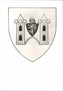 Ansichtskarte Plauen (Vogtland) Wappen der Stadt 1985