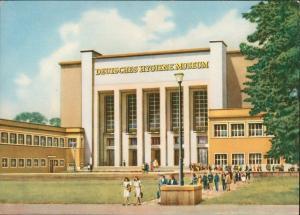 Pirnaische Vorstadt-Dresden Deutsches Hygiene-Museum Künstlerkarte 1966