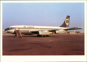 Fuhlsbüttel-Hamburg AIR COMMERZ Boeing B.707-138B Flughafen 1989