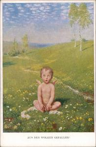 Ansichtskarte  M. Munk (Wien) Kunst-AK Kind