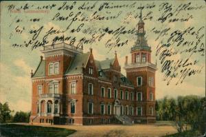 Postcard Gunnarstorp Kulla Gunnarstorp Gebäude Building 1910