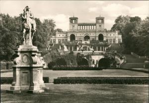 Ansichtskarte Potsdam Sanssouci Orangerie Schloss Park DDR-Zeit 1970