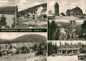 Auersberg (Erzgebirge) DDR  ua. Konsum-Hotel, Berghotel Talsperre uvm. 1974
