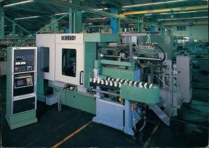 Hedelfingen-Stuttgart Fabrik Schaudt Maschinenbau Voll Rundschleifmaschine 1973