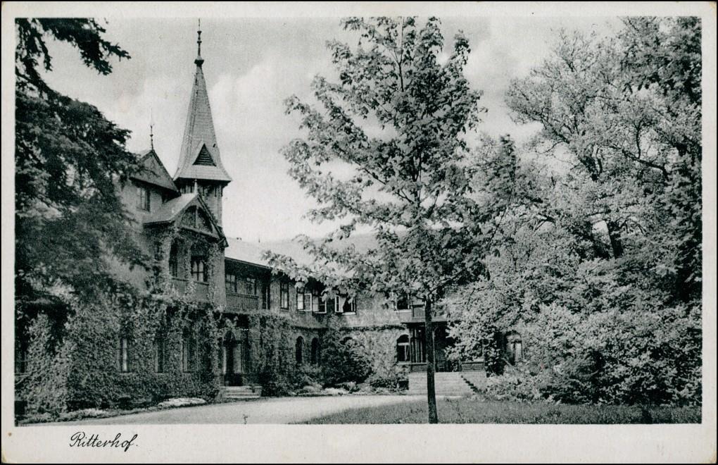 Ansichtskarte Hannover Ritterhof 1934 0