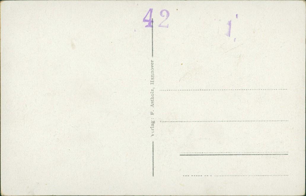 Ansichtskarte Hannover Ritterhof 1934 1