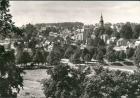 Treuen (Vogtland) Panorama-Ansicht Totalansicht DDR Postkarte 1985/1983