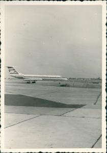 Foto Klotzsche-Dresden DK Jet - Flugzeug 1962 Privatfoto