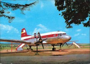 Niederalbertsdorf-Langenbernsdorf Talsperre   DDR Flugzeug  Spielplatz 1974