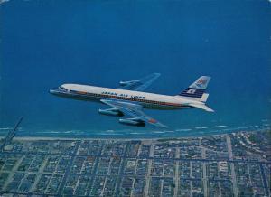 CONVAIR 880M JET COURIER JAPAN AIR LINES Flugwesen - Flugzeuge 1977