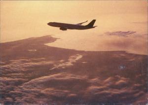 Ansichtskarte  Airbus A340-200 Lufthansa Flugwesen - Flugzeuge 1992