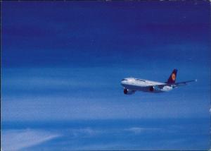 Ansichtskarte  Lufthansa Airbus A310-300 Flugwesen - Flugzeuge 1988