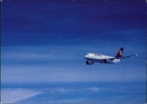 Ansichtskarte  Lufthansa Airbus A310-300 Flugwesen - Flugzeuge im flug 1988