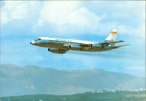 Ansichtskarte  Flugwesen - Flugzeuge Spantex 1975