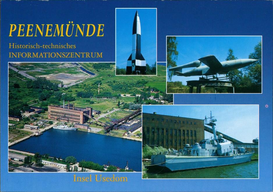 Ansichtskarte Peenemünde Historisch-technisches Informationszentrum 2000 0