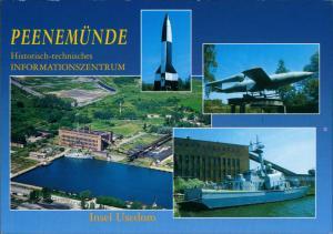 Ansichtskarte Peenemünde Historisch-technisches Informationszentrum 2000