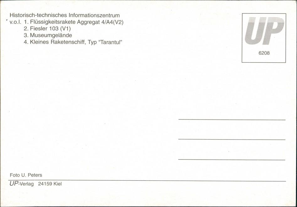 Ansichtskarte Peenemünde Historisch-technisches Informationszentrum 2000 1