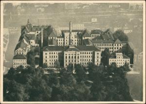 Ansichtskarte Chemnitz Luftbild staatliche Akademie für Technik 1933