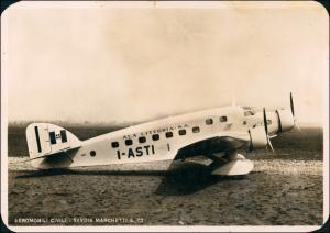 AEROMOBILI CIVILI - SAVOIA MARCHETTI S. 73 Flugwesen - Flugzeuge Italien 1935
