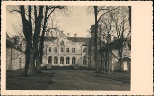 Fotokarte Pommerzig Pomorsko Schloß Züllichau Grünberg 1940 Privatfotokarte