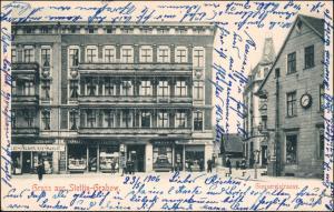 Grabow-Stettin Grabowo Szczecin Giessereistrasse, Geschäfte 1906