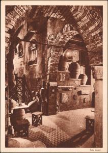 Rom Roma Ristorante Bottiglieria GROTTE DI ENOTRIA Innenansicht 1930