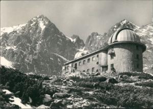 .Slowakei Astronomický ústav SAV V skalnatej dohne, Radar-Anlage 1968