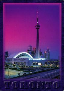 Postcard Toronto CN Tower Stadt City 1997