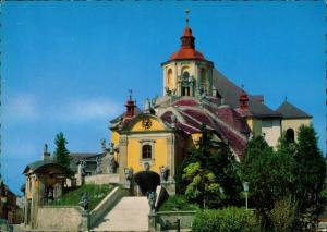 Ansichtskarte Eisenstadt Bergkirche Kirche Church Eglise 1970
